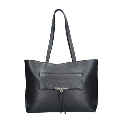 PATRIZIA PEPE Shopper Tasche Leder 37 cm