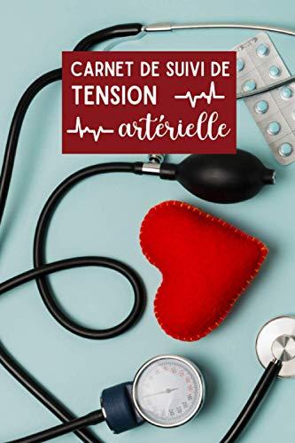 carnet de suivi de tension artérielle: 1 an de relevé d
