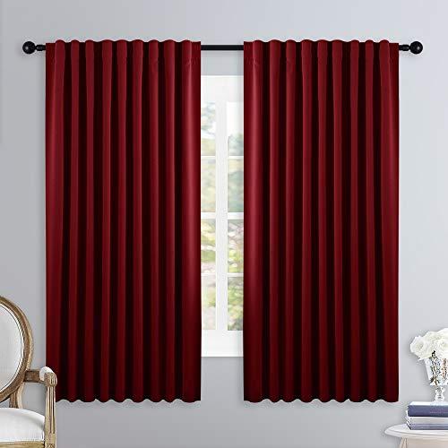 cortina roja fabricante NICETOWN