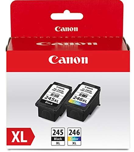 Canon PG-245XL CL-246XL Original Black & Colour Ink Cartridges, Combo