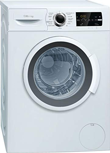 Balay 3TS999B Independiente Carga frontal 9kg 1200RPM A+++ Blanco - Lavadora (Independiente, Carga frontal, Blanco, Botones, Giratorio, Izquierda, LED)