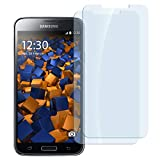 mumbi ECO Hart Glas Folie kompatibel mit Samsung Galaxy S5 Panzerfolie, Galaxy S5 Neo Panzerfolie, Schutzfolie Schutzglas (2X)