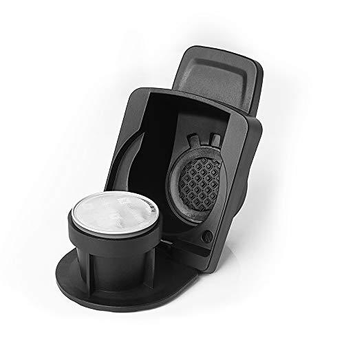 Convertisseur pour machine Dolce Gusto vers dosettes de café Nespresso, adaptateur de Dolce Gusto vers Nespresso, compatible avec : Dolce Gusto EDG606, EDG466 Genio2, EDG305 Mini Me, EDG455TEX1