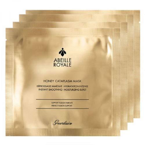 Guerlain 57802 Abeille Royale Honey Cataplasm, Mask x 4