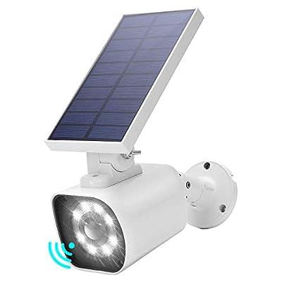 JACKYLED 800Lumens Solar Motion Sensor Light