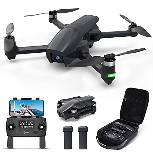 Holy Stone HS710 Drones with Camera for Adults 4K, GPS FPV Foldable 5G Quadcopter for Beginners with Optical Flow Positioning, Auto Return Home, Follow Me, Brushless Motor, 50 Mins Long Flight Time
