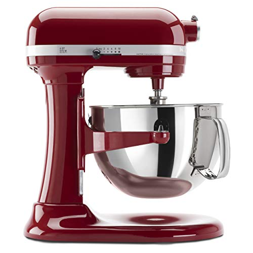 KitchenAid KP26M1XER 575 Watt Stand Mixer, Empire Red