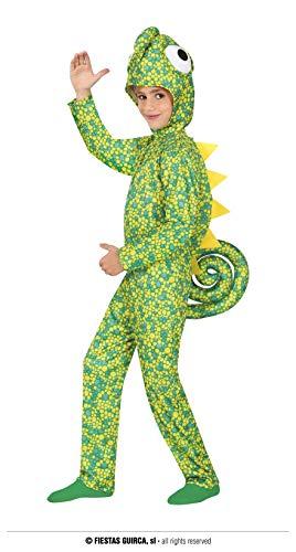 FIESTAS GUIRCA Disfraz de camalen para nios de 10 a 12 aos