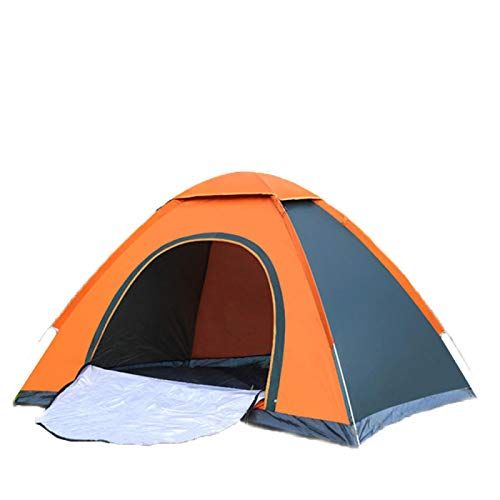 DRGRG Pop Up Tents Dome Canopy Automatic Outdoor Family Camping Tent 3-4 Person Easy Open Camp Tents Ultralight Instant Shade