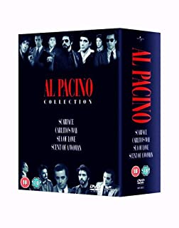 Al Pacino Box Set (Scarface, Carlito's Way, Sea of Love, Scent of A Woman) [DVD] (B000FTJ6S8) | Amazon price tracker / tracking, Amazon price history charts, Amazon price watches, Amazon price drop alerts