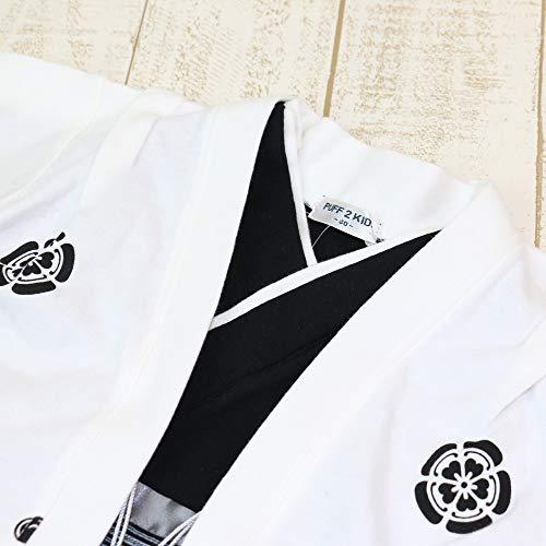 袴カバーオールロンパースベビー赤ちゃん子供服フォーマル男の子羽織セット白60cm10657506OW60