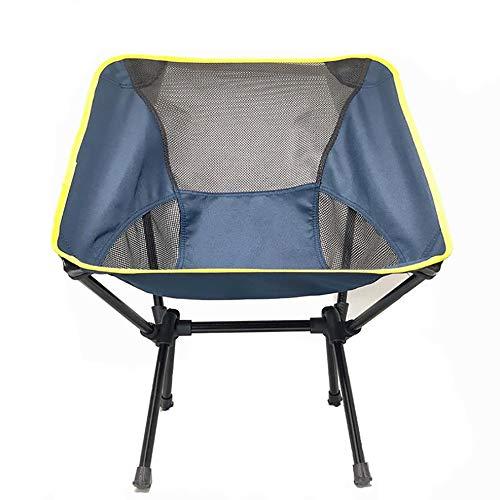 BXLXY Lage opvouwbare strandstoel Lichtgewicht Draagbare Outdoor Camping Stoelen, Ultra Light Tuinstoel met Draagtas voor Backpacking Wandelen Picnic Fishing Park Festival Beach etc 5 Kleuren