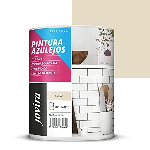 PINTURA PARA AZULEJOS AL AGUA Da una imagen nueva a tu cocina y baño. (750 ml, HUESO)