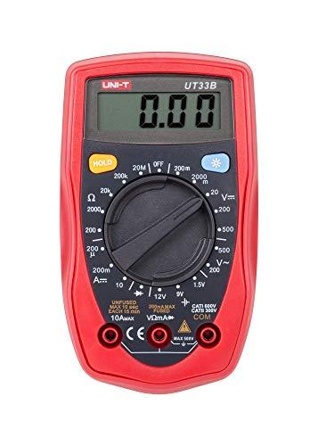 UNI-T UT33B - Multímetro digital UT 33 B / MIE0043