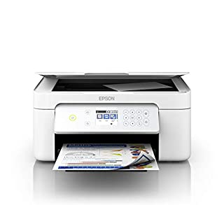"Epson Expression Home XP-4105 3-in-1 Inkjet Multi-Function Printer (Scanner, Copier, WiFi, Single Cartridges, Duplex, 2.4"" Display) Amazon Dash Replenishment Capable, White (B07VWR6H3D) 