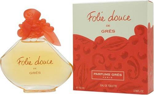 Folie Douce By Parfums Gres For Women. Eau De Toilette 3.38 Ounces by Parfums Gres