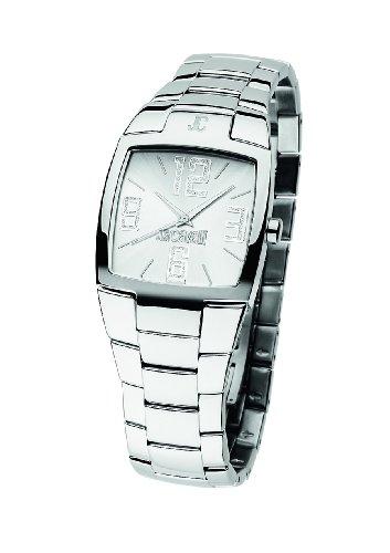 Just Cavalli R7253134615 - Orologio da polso unisex, cinturino in acciaio inox colore argento