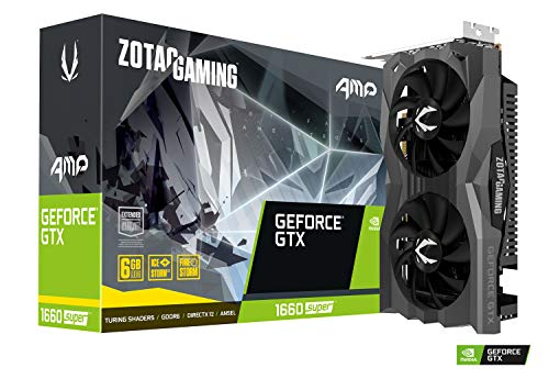 Zotac Geforce Gtx 1660 Super Amp 6Gb Gddr6 Grafikkarte - 3X Displayport/Hdmi