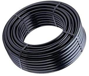 Schlauch 32 mm aus Polyethylen, für die Landwirtschaft. Maximaldruck: 6 bar, 100-Meter-Spule, Farbe: Schwarz. PE-Rohr 32 mm, 6 bar, niedrige Dichte, für Bewässerungs- und Tropfanlagen