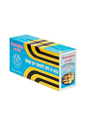 AR.PA | Ammoniaca Per Dolci Buste Da 15g | Ammoniaca Per Dolci E Biscotti | Ammoniaca Alimentare |Espositore 50 Buste Da 15g