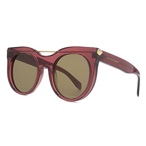 Alexander McQueen - Gafas de sol - para mujer marrón marrón 52