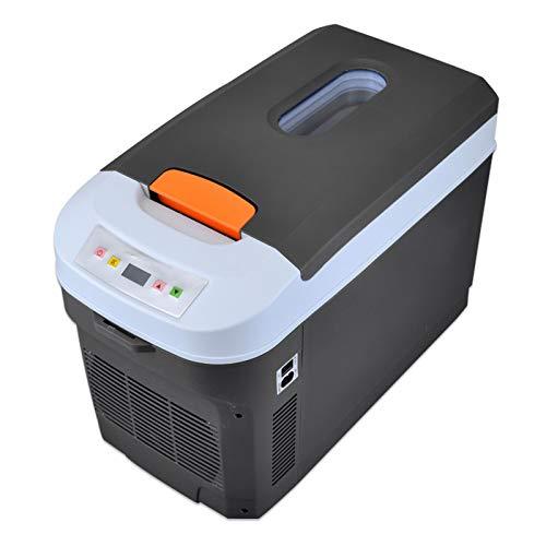 Nevera De Coche Portátil Frigoríficos Mini Refrigerador De Coche 25 litros Refrigerador De Doble Uso para Automóvil Y Hogar para Hogar Aire Libre Camping, Viajes