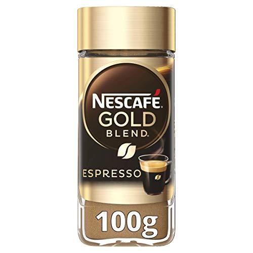 Nescafe GOLD Espresso Instant Coffee 100g