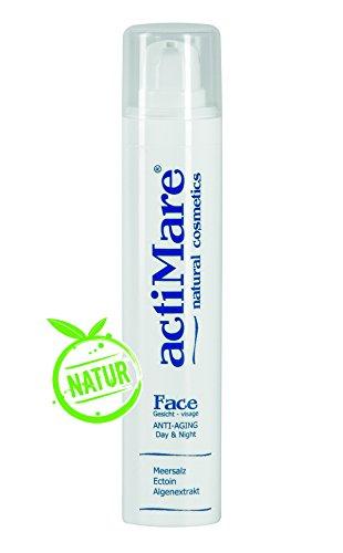 actiMare Face Anti Aging - Day&Night 50ml - Gesichtscreme mit Meersalz, Ectoin und Algenextrakt | Naturkosmetik | von actiMare natural cosmetics