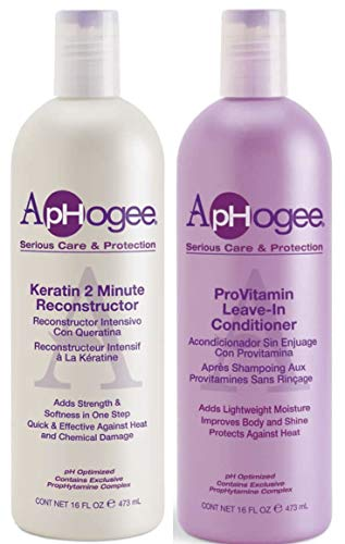 Aphogee Pro Vitamin Leave-in-Conditioner & Keratin 2 Minute Reconstructor