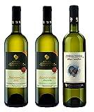 'Domaine Hatzimichalis Vin Blanc sec Malagousia Oaked, Vin Blanc sec Assyrtiko 'Alepotrypa', Vin Blanc sec Prima Terra ATHIRI -SEMILLON (3x750 ml)'