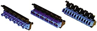 CommScope - PNLBK012SFASC02BL - Adapter Panel, Black, 1000-Type, w/6 SC Blue adapt