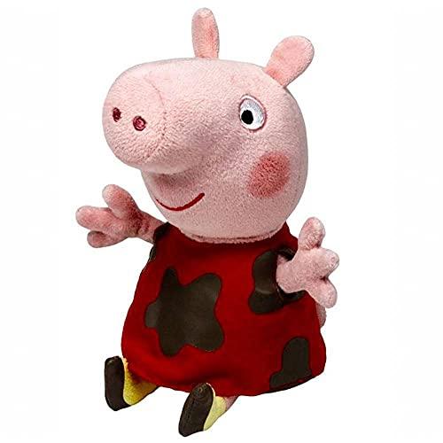Ty Uk 15 cm Peppa Pig Muddy Puddles Bonnet