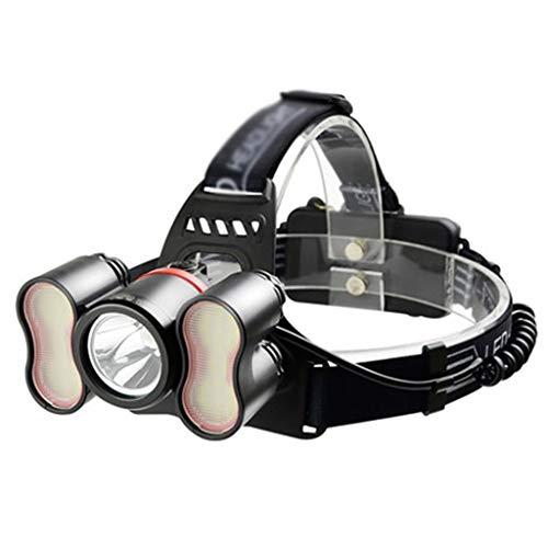 Fari Esterni fari a induzione luci LED Campeggio luci Notte Pesca luci di Manutenzione luci di Ricerca Nero