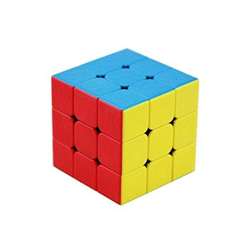 風の翼 - 最新の高速マジックキューブ、宝石のマット面無シールパズルキューブ平滑と調節可能 (3x3x3)