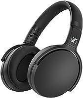 Sennheiser ゼンハイザー HD 350BT BLACK Bluetoothヘッドホン, 低遅延, AAC, aptX-LL, Bluetooth 5.0, ボイスアシスタント連携, Smart Control App,...