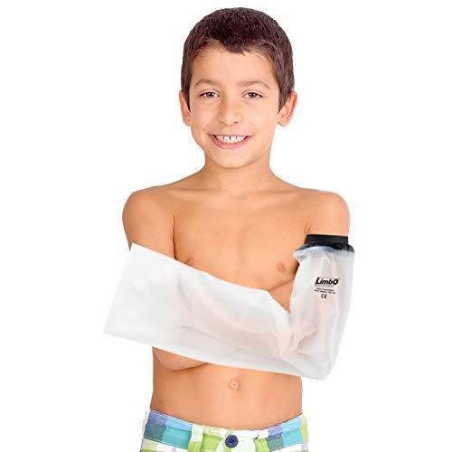 Housse de protection imperméable LimbO Bras Enfant pour les plâtres (FA45 – Full Arm 4-5 Yrs)