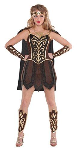 Amscan - 843122-55 - Warrior Princess Of Disguise - Tamaño 38-40