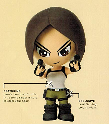 Tomb Raider Lara Croft Figure Loot Crate Gaming July 2016 Exclusive by Loot Crate