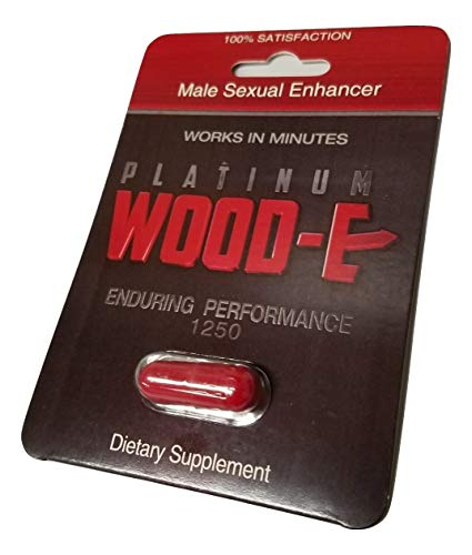 Original Platinum Woodie All Natural Male Enhancement TIME - Size - Stamina and Perform All Night Long! (3)