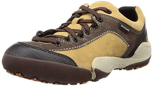 Woodland Men's 2871118 Camel Leather Sneaker-7 UK (41 EU) (8 US) (GC 2871118CAMEL)