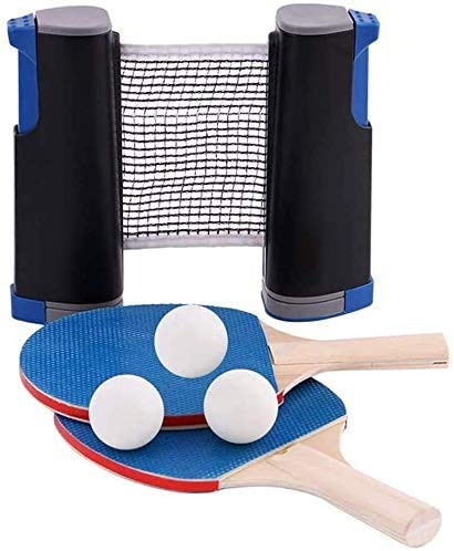 Check Out This Professional Table Tennis Set, Table Tennis Racket Set Equipment Including net Posts ...