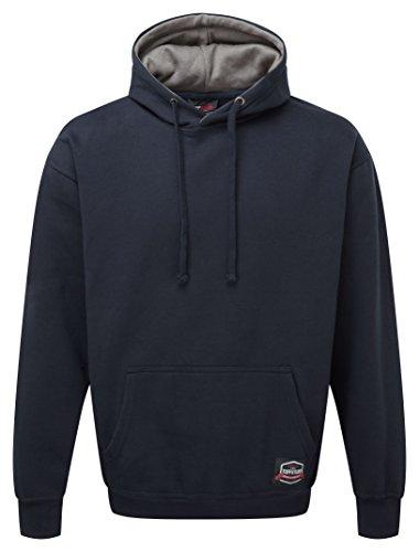 Castle Clothing 177Hendon con cappuccio, blu navy, L
