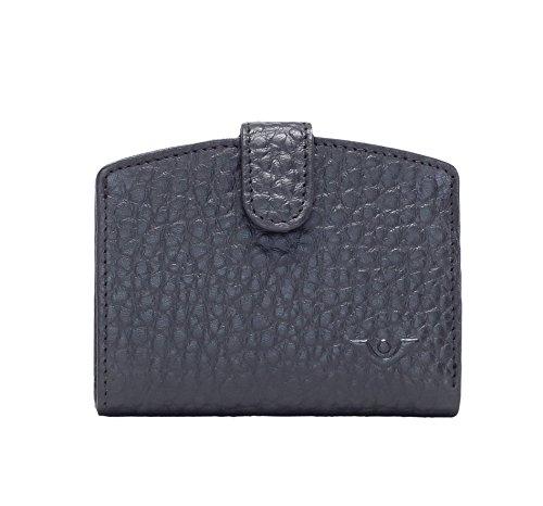 Voi leather design 70194 HIRSCH-Prägung Minibörse Damen: Farbe: schwarz