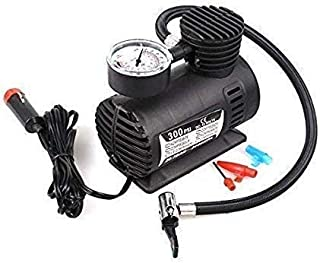 BRAHMANI CREATION Air Compressor for Car and Bike 12V 300 PSI Tyre Inflator Air Pump for Motorbike,Cars,Bicycle,for Football,Cycle Pumps for Bicycle,car air Pump for tubeless