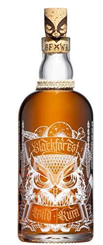 Blackforest Wild Rum Barrique 42% Vol. (1 x 0.5 l) - Brennerei Wild aus Gengenbach - Weltneuheit aus dem Schwarzwald - Deutscher Rum der Extraklasse