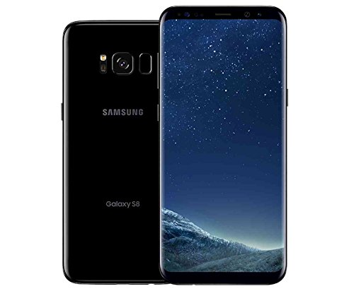 Samsung Galaxy S8, 64GB, Midnight Black - For AT&T / T-Mobile (Renewed)