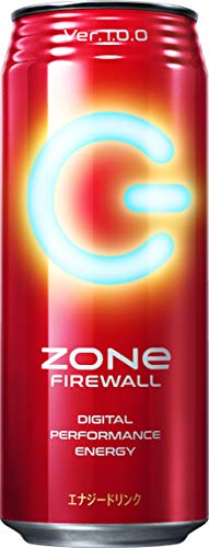 ZONe FIREWALL Ver.1.0.0 エナジードリンク 500ml×24本