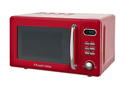 Russell Hobbs RHRETMD806R Solo 17L Digitale Mikrowelle, Rot