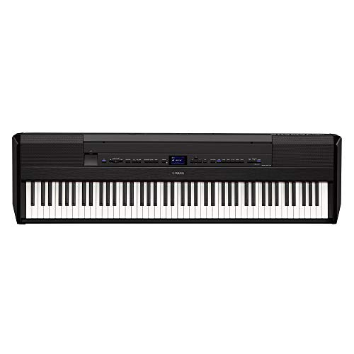 Yamaha P515 88-Key Weighted Action Digital Piano, Black