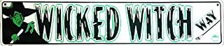 Signs4Fun (Former Galan) Wizard Of Oz Tin Sign Wicked Witch